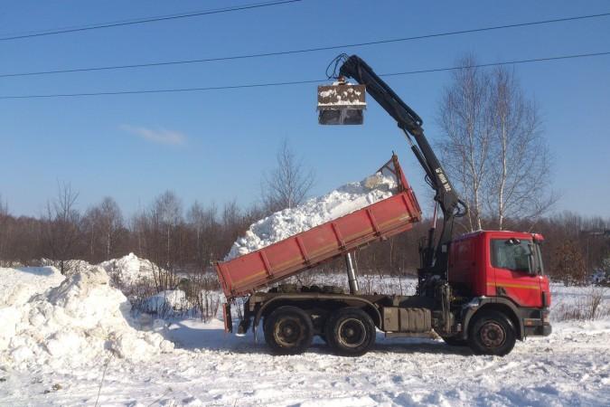 wywóz śniegu