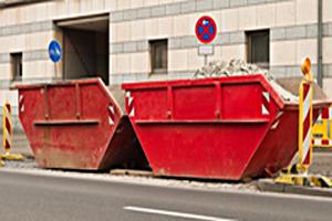 Kontenery na odpady gruz