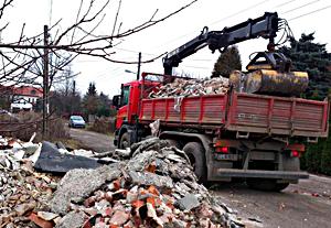 Wywóz śmieci Łódź