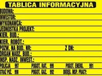 tablica_informacyjna_budowy przygotowanie terenu