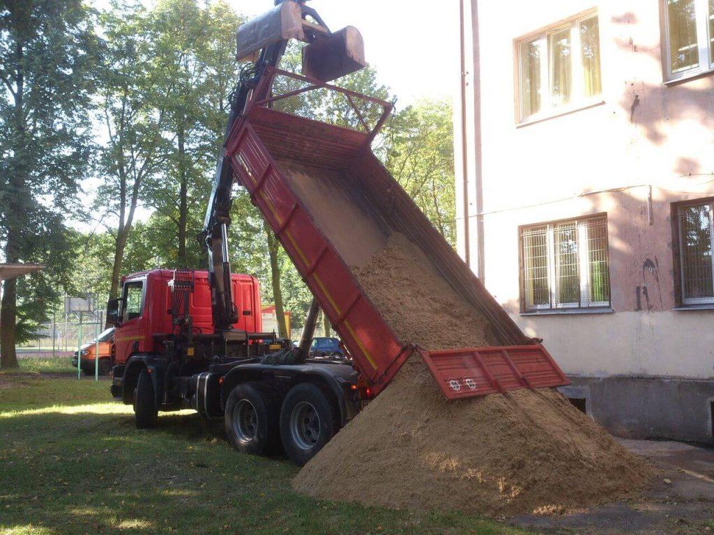 Sprzedaż piasku Łódź i okolice