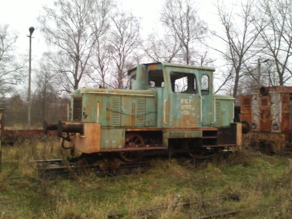 transport lokomotywy